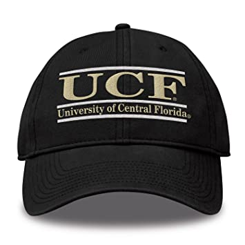 Amazon.com   The Game NCAA Central Florida Golden Knights Bar Design Twill  Hat 706ccac1206c