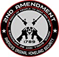 2nd Amendment - America's Original Homeland Security Round Bumper Sticker Decal (5 Inch)