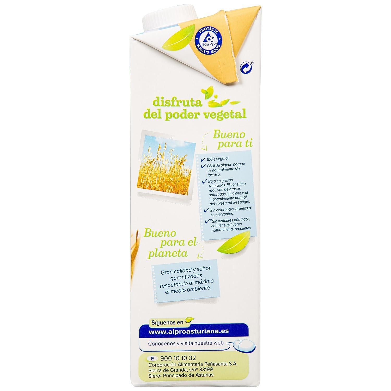 Central Lechera Asturiana Bebida de Avena - Paquete de 6 x 1000 ml - Total: 6000 ml: Amazon.es: Alimentación y bebidas