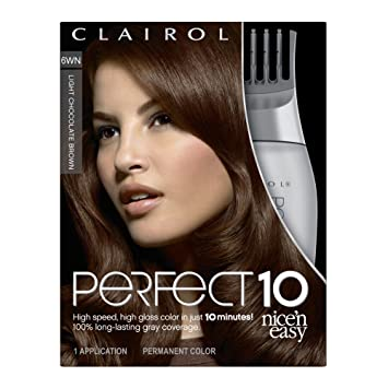 Amazon Com Clairol Nice N Easy Perfect 10 Permanent Hair Color