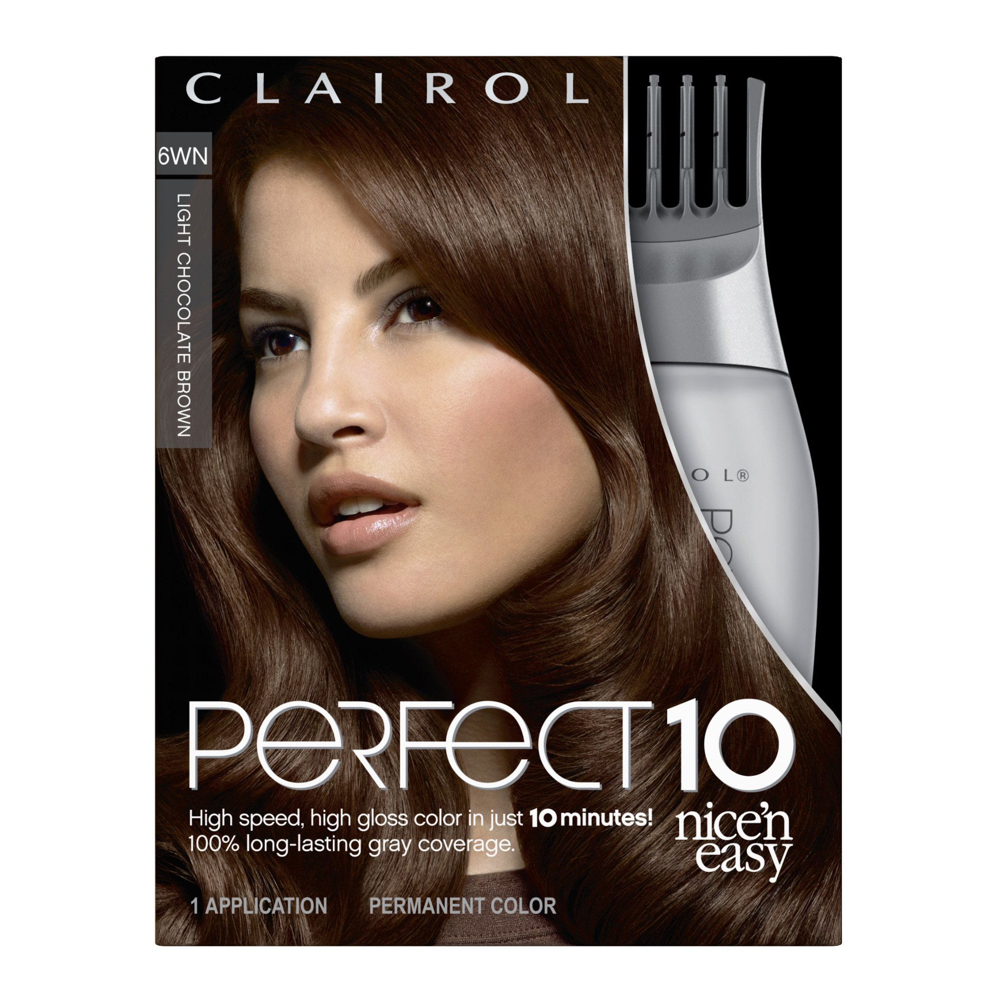 Amazon.com : Clairol Perfect 10 By Nice N Easy Hair Color 005 Medium Brown 1 Kit Pack of 2