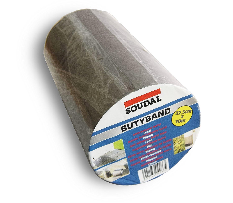 Autoadhesivo Americana tapajuntas –  Soudal BUTYBAND intermitente cinta 10 m x 225 mm