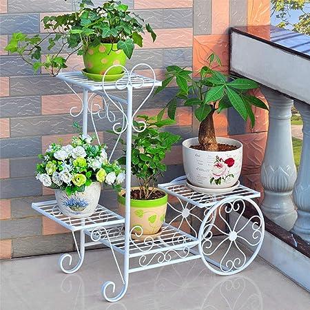 QitianDasheng - Jardinera de Hierro Forjado para jardín Familiar: Amazon.es: Hogar