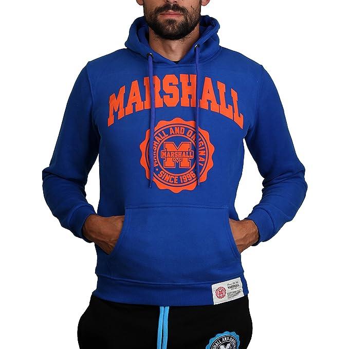 Sudadera Marshall Original SIMPLE SWEAT SAX azul - hombre - S: Amazon.es: Ropa y accesorios