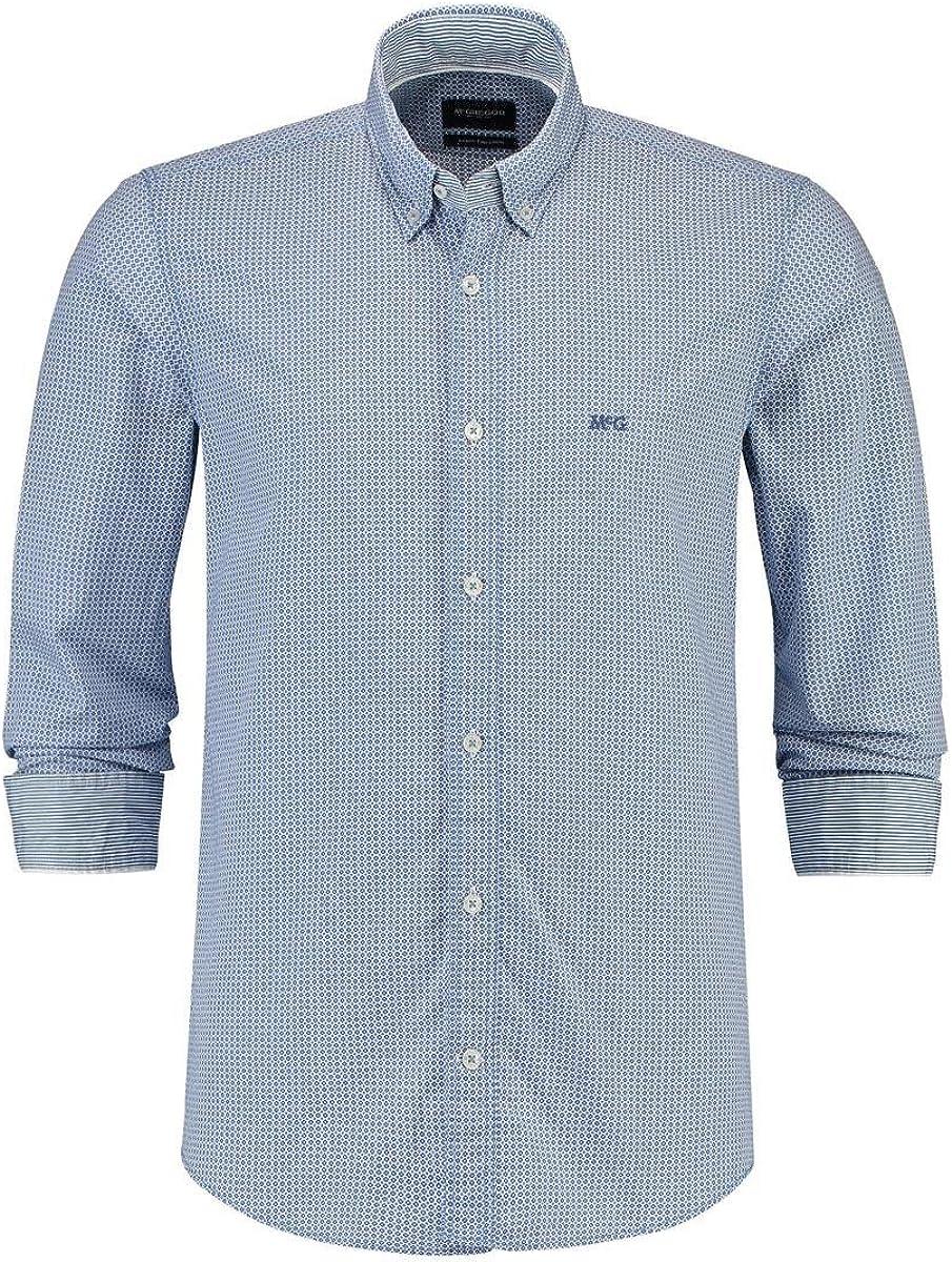 Camisa McGregor Pieter Cranston Azul XXL Azul: Amazon.es: Ropa y accesorios