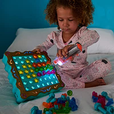 Educational Insights Design & Drill SparkleWorks - Light Up Drill Toy, STEM Learning with Toy Drill: Toys & Games