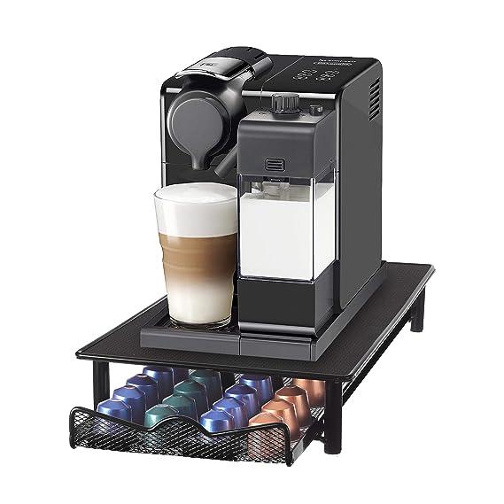Café Capsulas Dispensador de Homiso | Nespresso compatibles | 40 Capsulas porta: Amazon.es: Hogar