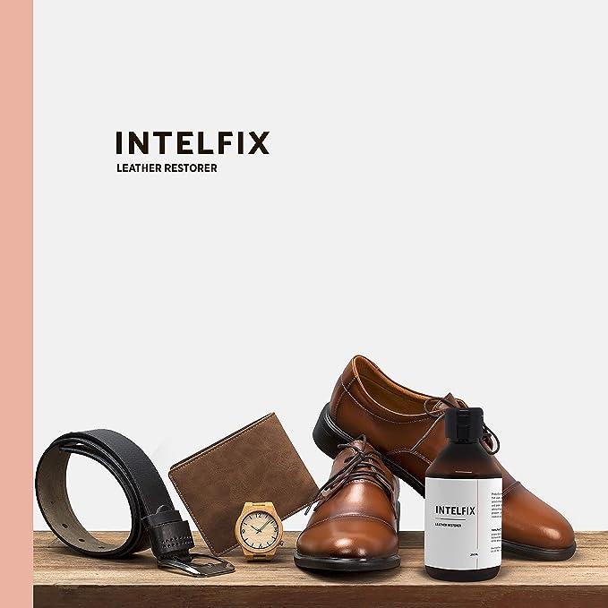 INTELFIX - Restaurador de Brillo de Cuero I 250 ml I Restore ...