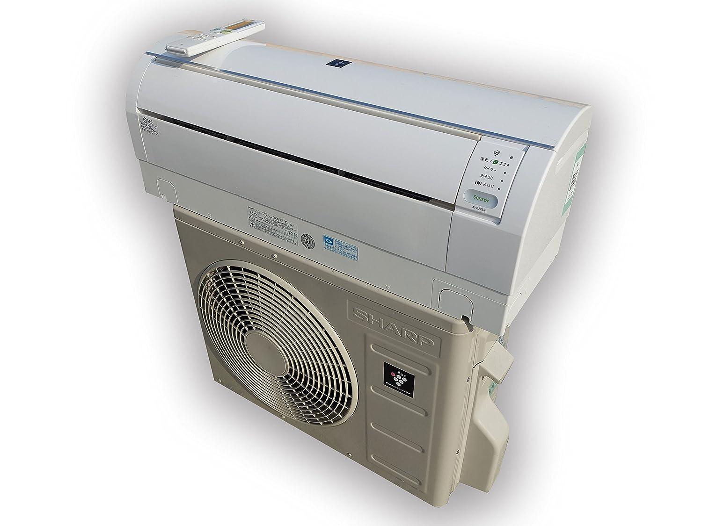 シャープ 【エアコン】高濃度プラズマクラスター25000搭載SHARP おもに6畳用(ホワイト系) AY-E22EX B00Q6MCSL0