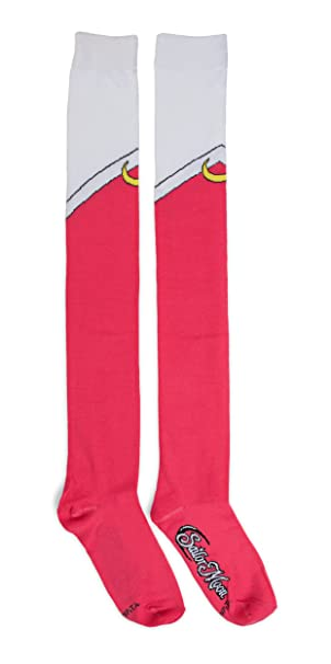c4cad4fe94004 Image Unavailable. Image not available for. Color: Sailor Moon Cosplay Over  The Knee Socks