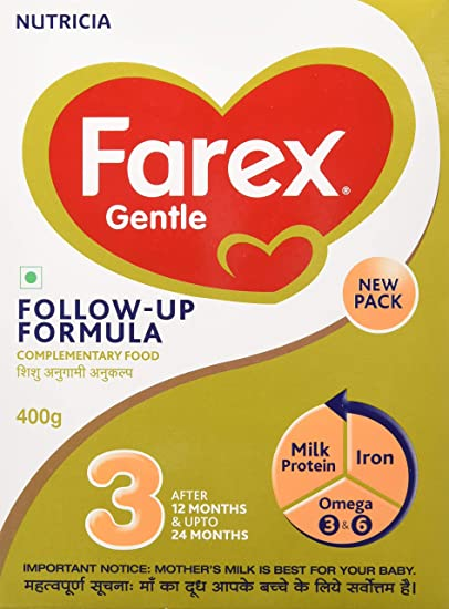 Farex -3 Follow Up Formula - 400 g