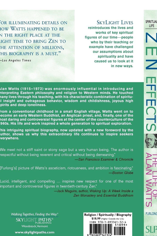 Amazon.com: Zen Effects: The Life of Alan Watts (Skylight Lives ...