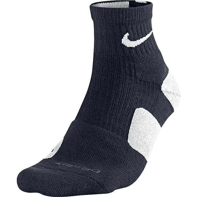 Nike Elite high-quarter Hombres de baloncesto calcetines negro/blanco sx3718 - 007 - negro -: Amazon.es: Ropa y accesorios