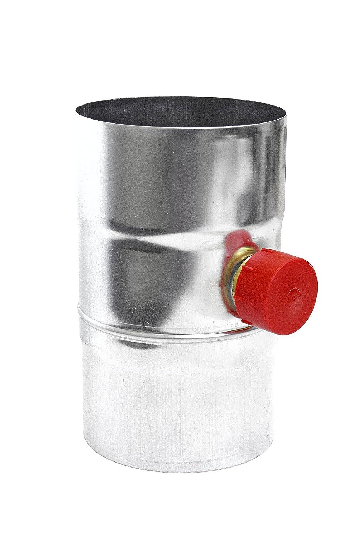 Regenwassersammler 87 mm Titan Zink Regensammler Schlauchanschlussset Kappe