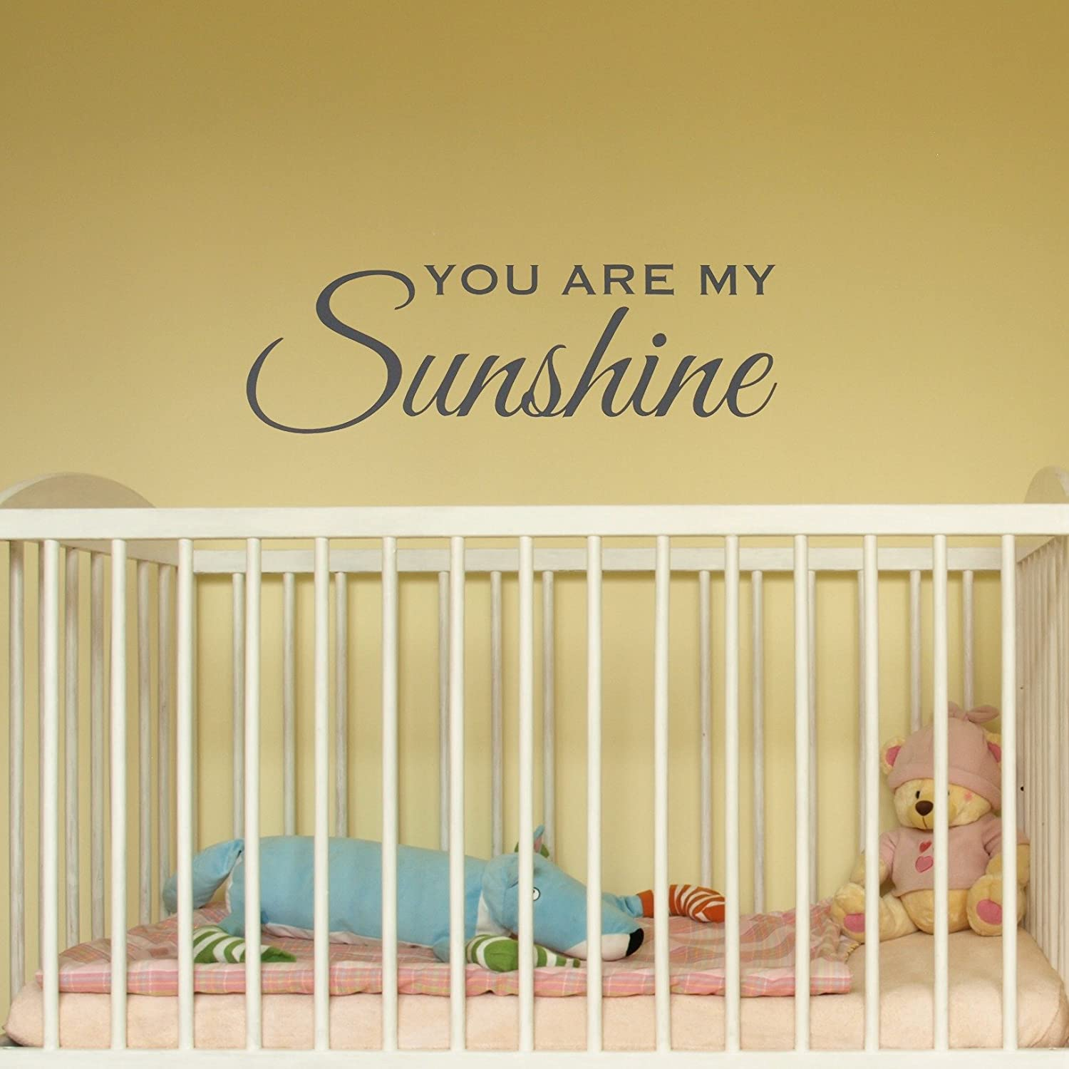 Amazon.com : You Are My Sunshine Wall Decal, Kids Rooms, Nursery ...