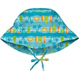 アイプレイ iplay 帽子 プリントハット UVカット あごひも付 ベビー キッズ 帽子 INFANT:9-18ヵ月 Aqua Surfboard Sunset