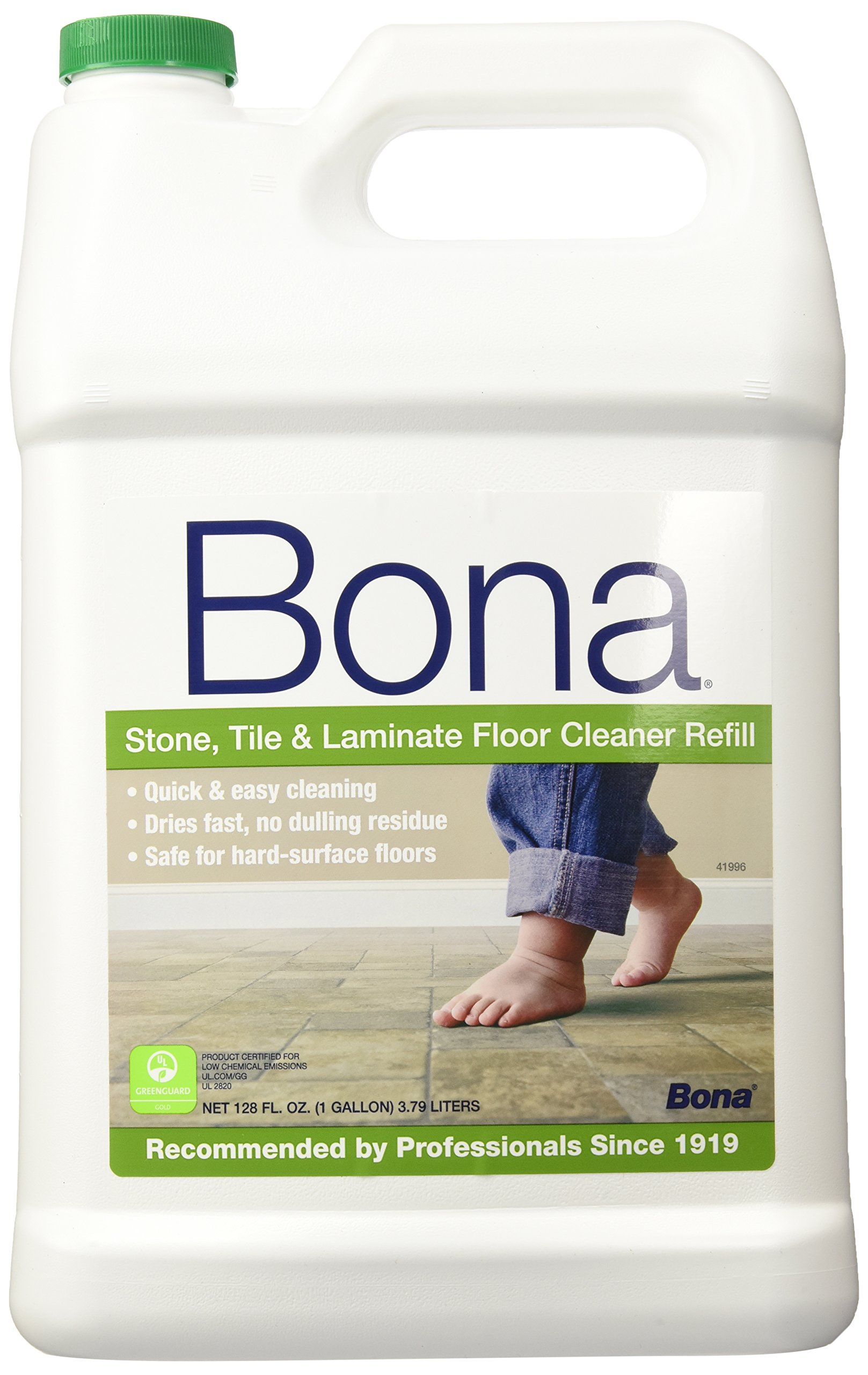 Laminate Floor Care : Bona stone tile and laminate floor cleaner refill