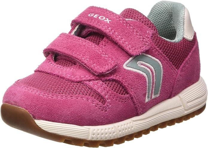 zapatillas geox mujer rosa larga