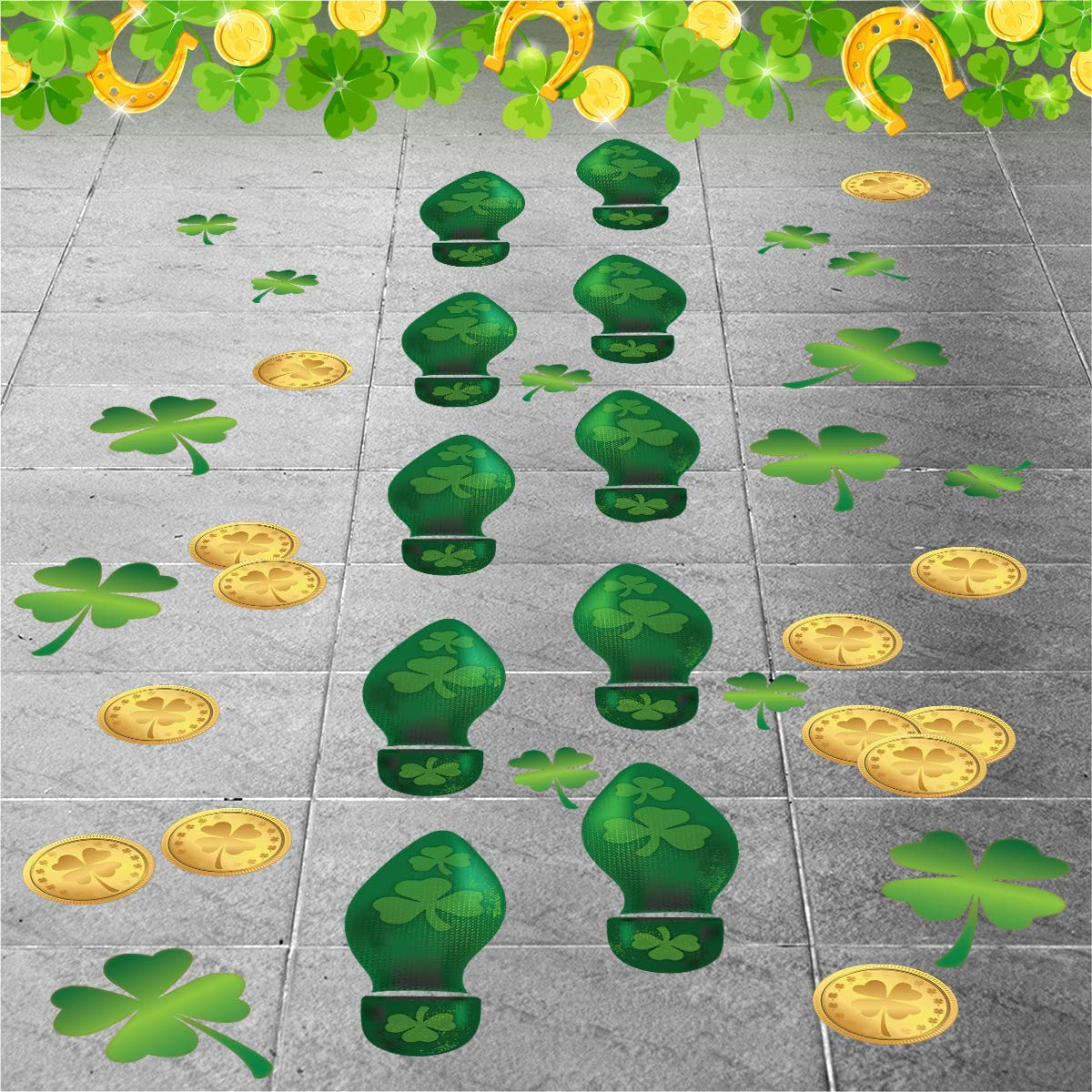 graphic about Leprechaun Feet Printable known as : Colonel Pickles Novelties Leprechaun Footprint
