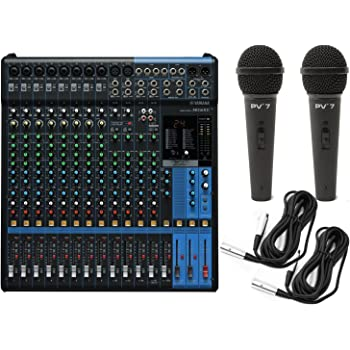 yamaha mg16xu 16 input analog mixer with microphone preamps dedicated stereo line. Black Bedroom Furniture Sets. Home Design Ideas