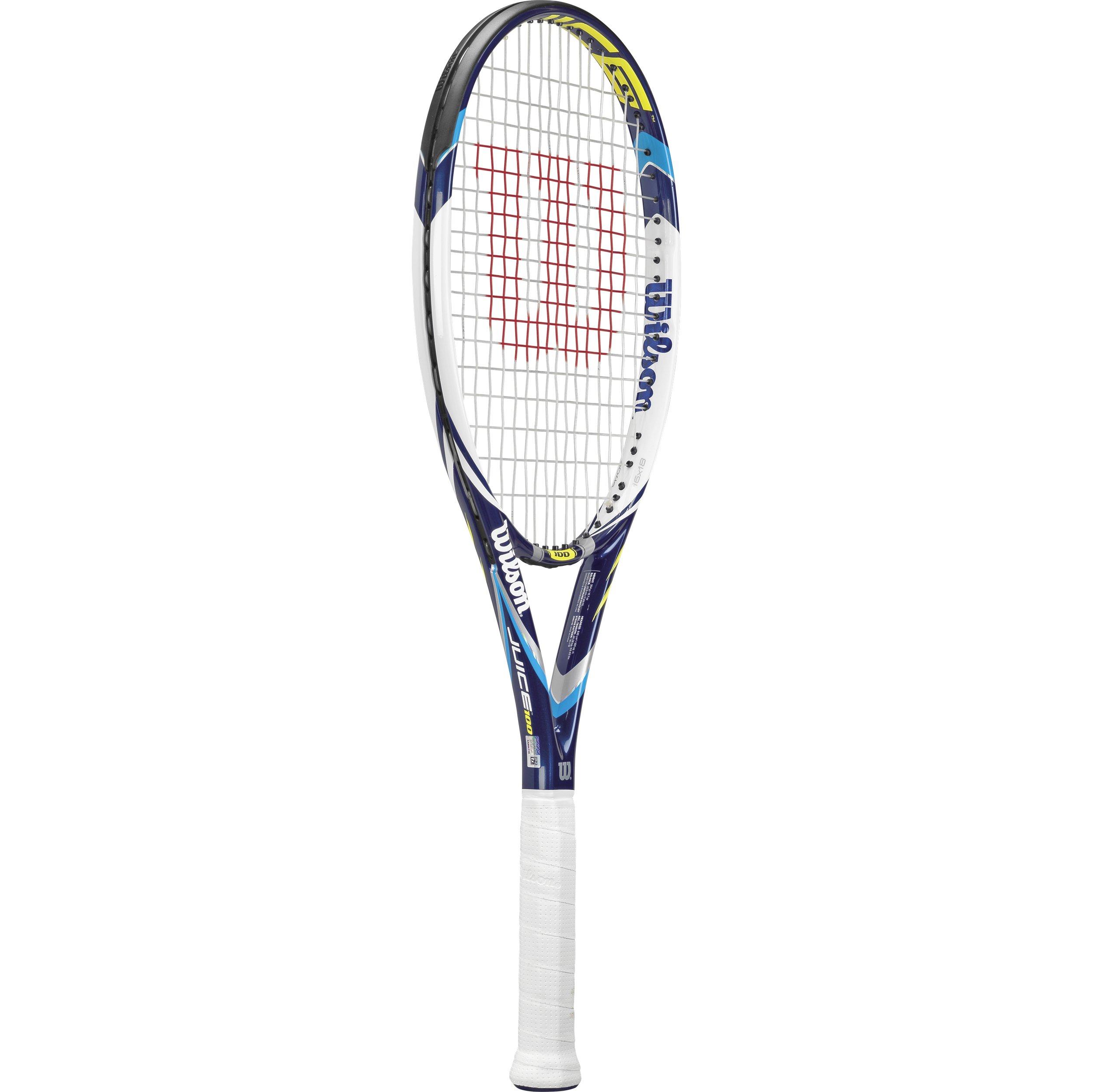 Wilson Juice 100 Tennis Racquet, 4.25