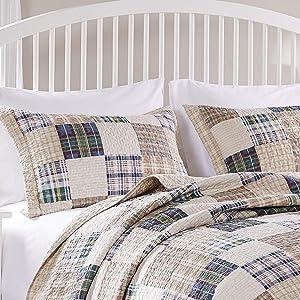 Greenland Oxford Standard Sham-Multi, Multicolor