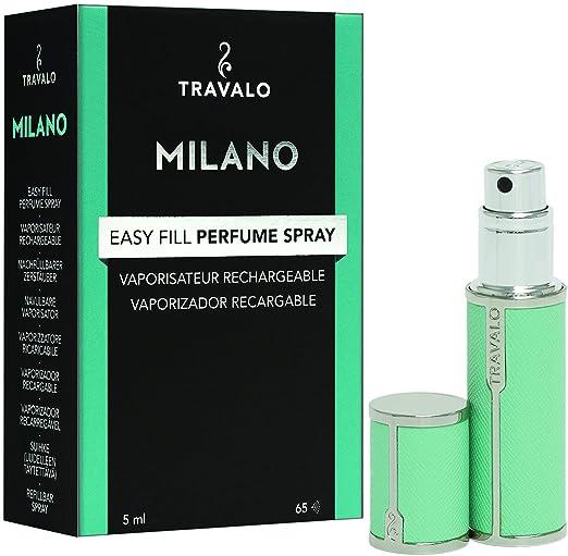 Amazon.com: Travalo Milano lujo portátil rellenable para ...