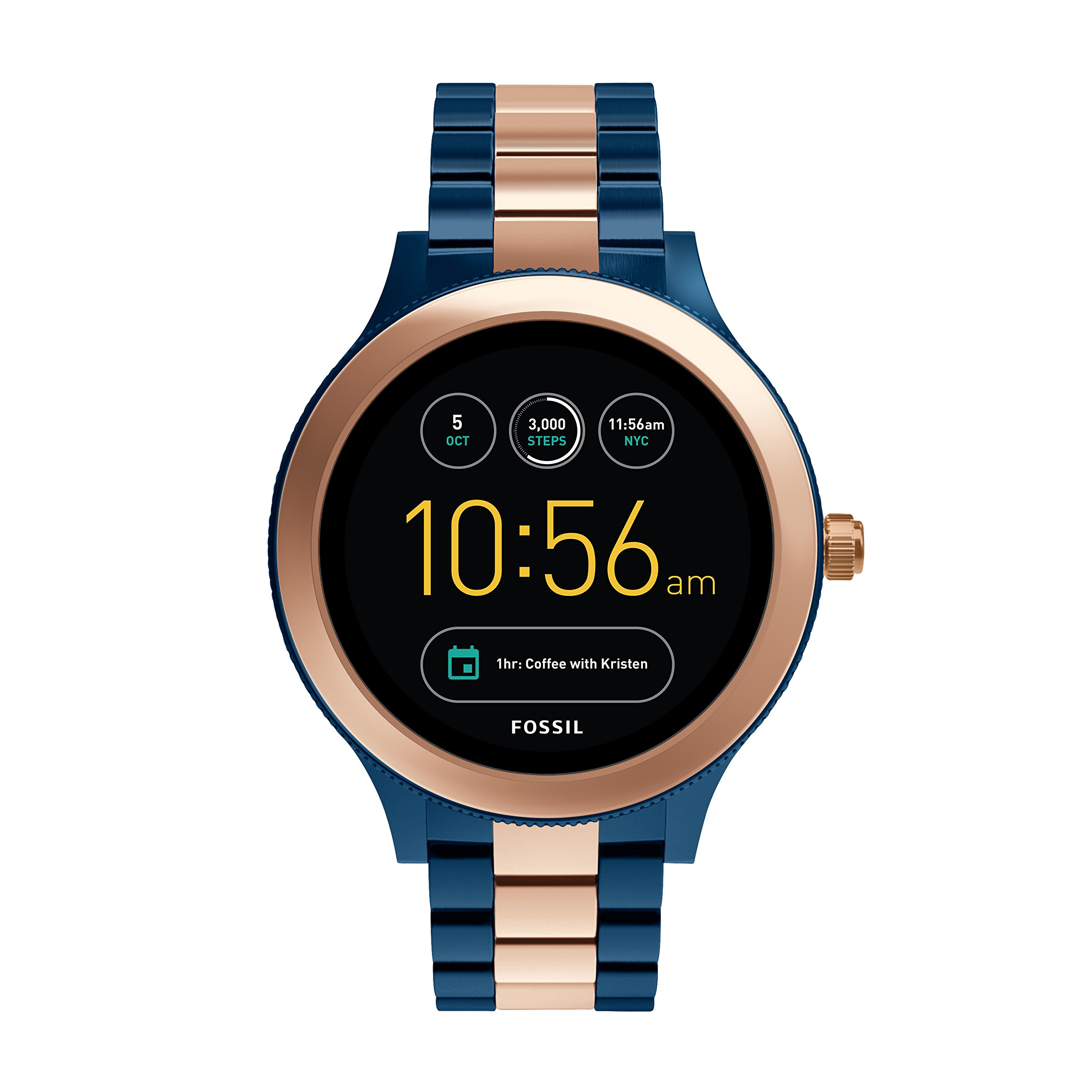 Fossil Gen 3 Smartwatch - Q Venture Rose Two-Tone Stainless Steel FTW6002