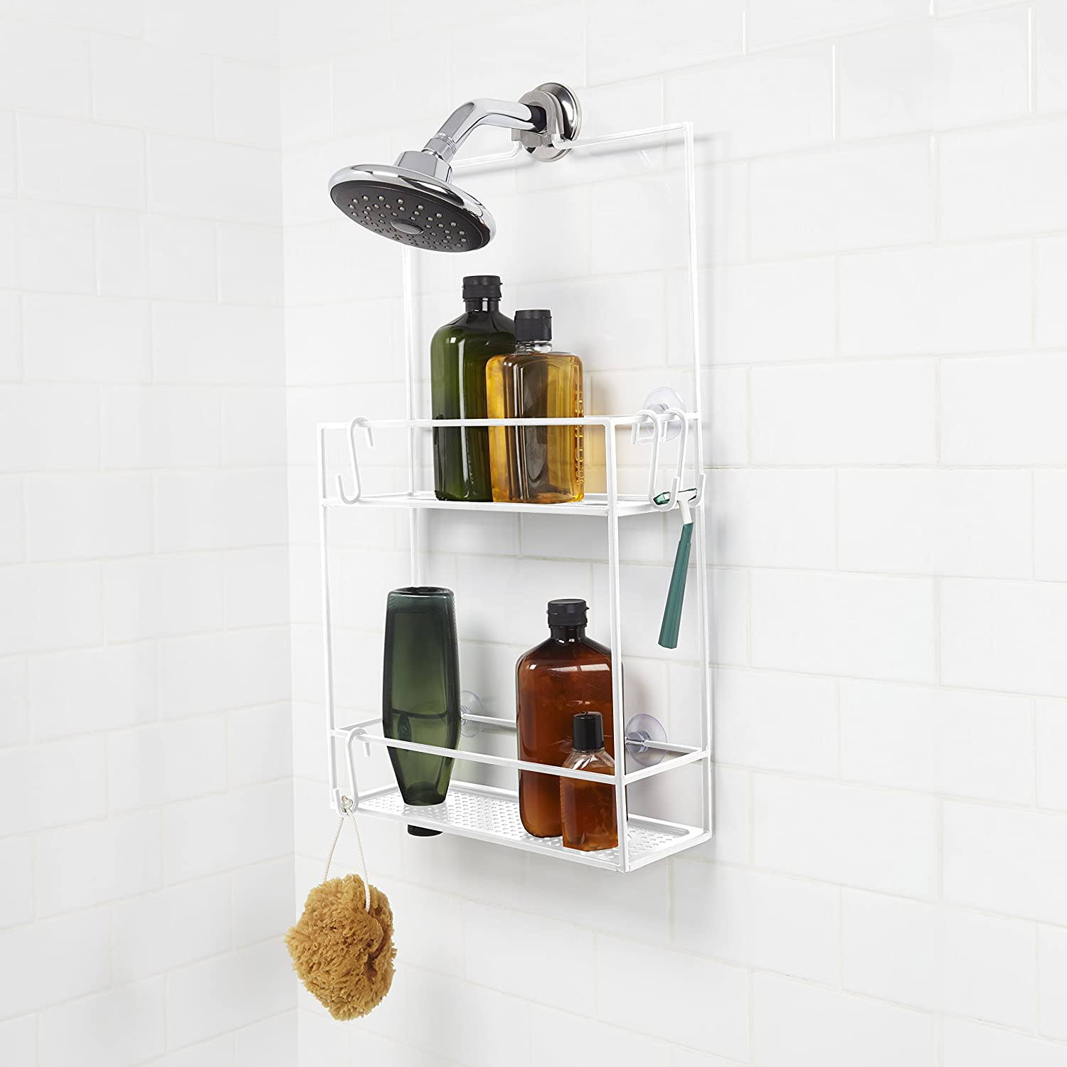 Amazon.com: Umbra Cubiko Shower Caddy, Black: Home & Kitchen