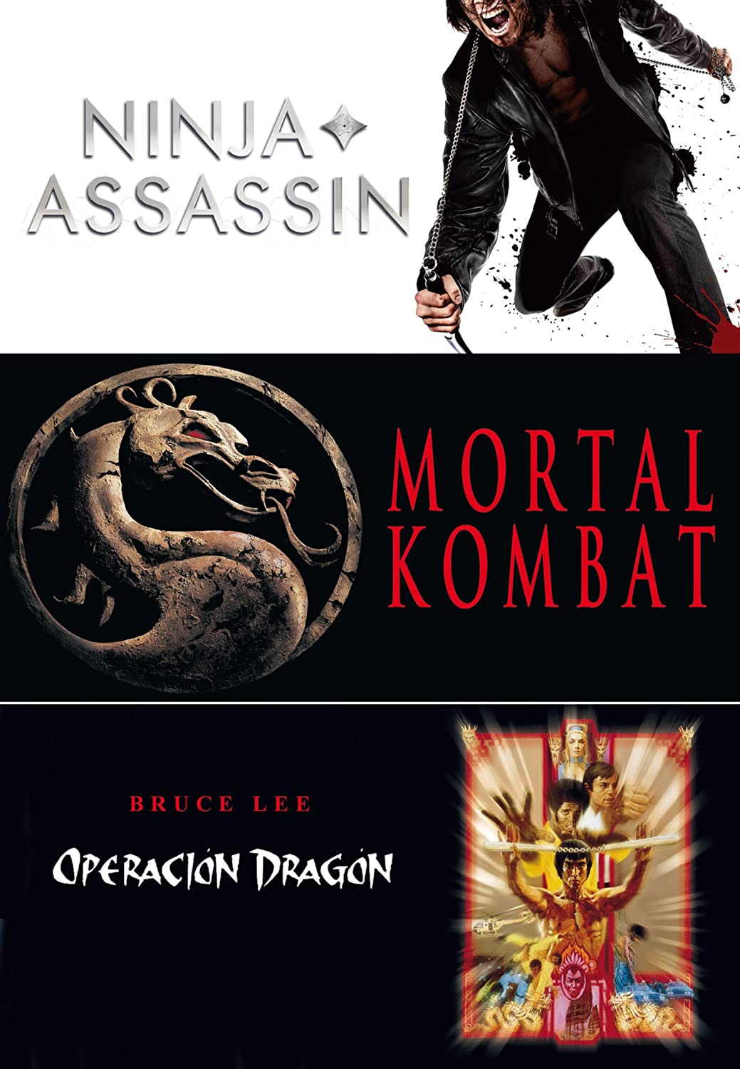 Triple Pack: Ninja Assassin + Mortal Kombat + Enter The ...