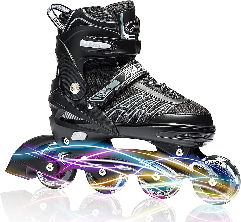 ITurnGlow可调单排溜冰鞋