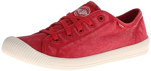 Palladium - Flex Lace, Sneakers da donna, rosso (red/mrshmllw 627)