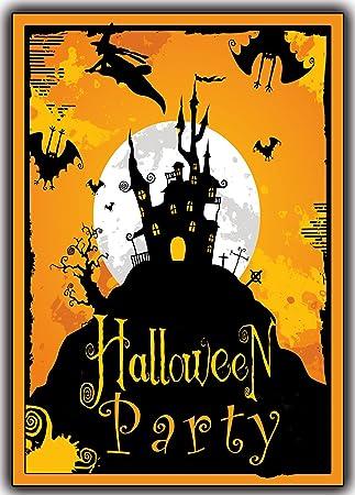 Ideal Halloween 12er Set Einladungskarten Einladung grusel-Karten  SQ73