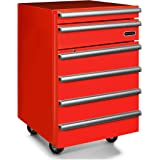 Whynter TBR-182RA Portable 1.8 cu.ft. Tool Box Refrigerator with 2 Drawers and Lock, Red