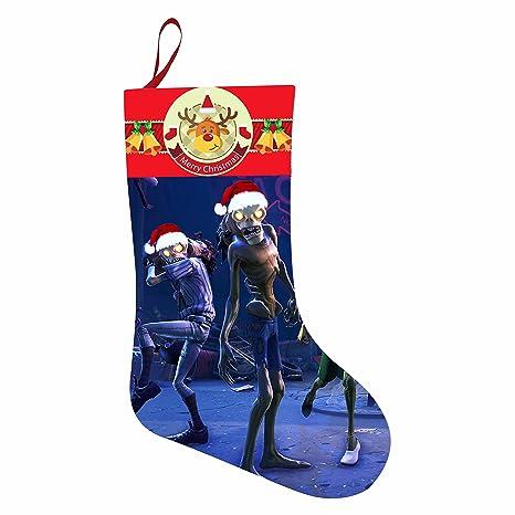 bowei Fortnite de calcetines de Navidad los niños medias X-mas Eve presente manguera