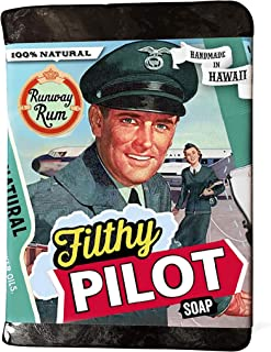 product image for Filthy Farmgirl Filthy Pilot Bar Soap Runway Rum Novelty Handmade Gift Soap