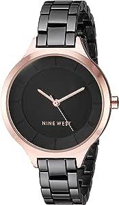 Nine West NW/2225 - Reloj de pulsera para mujer, tono dorado rosa