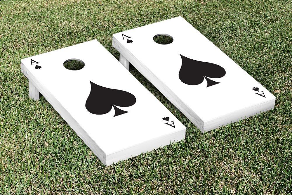 スペードのエースポーカーテーマCornhole Game Set
