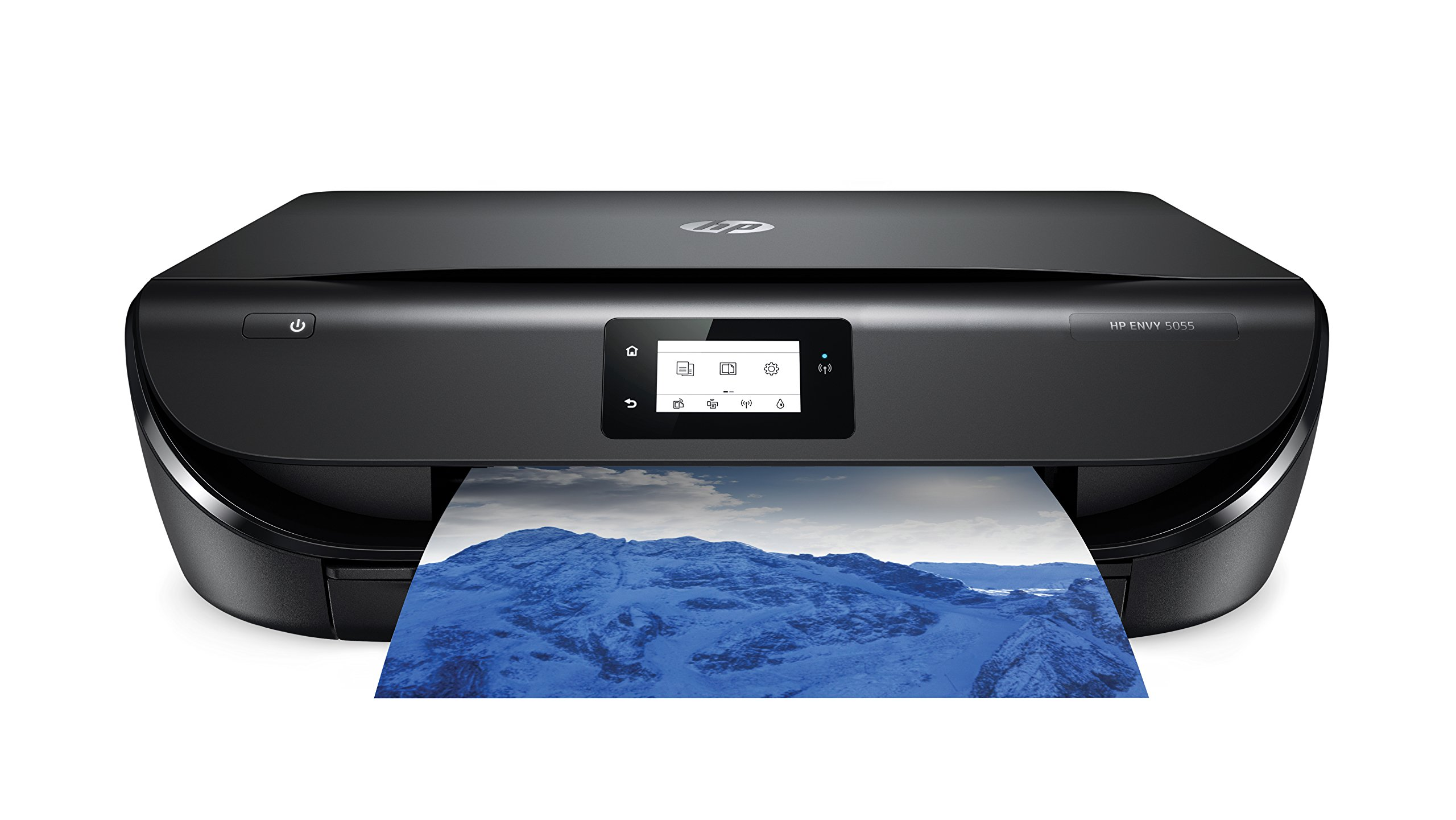HP ENVY 5055 Wireless All-in-One Photo Printer, HP Instant Ink & Amazon Dash Replenishment ready (M2U85A) by HP