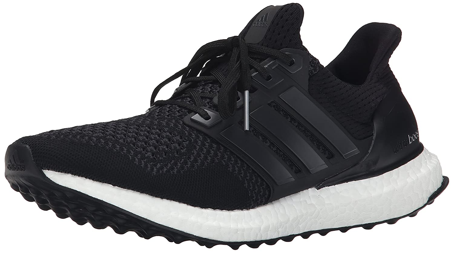 adidas Performance Men's Ultra Boost M Running Shoe B00WW7LIVY 7.5 M US|Black/Black/Solar Yellow