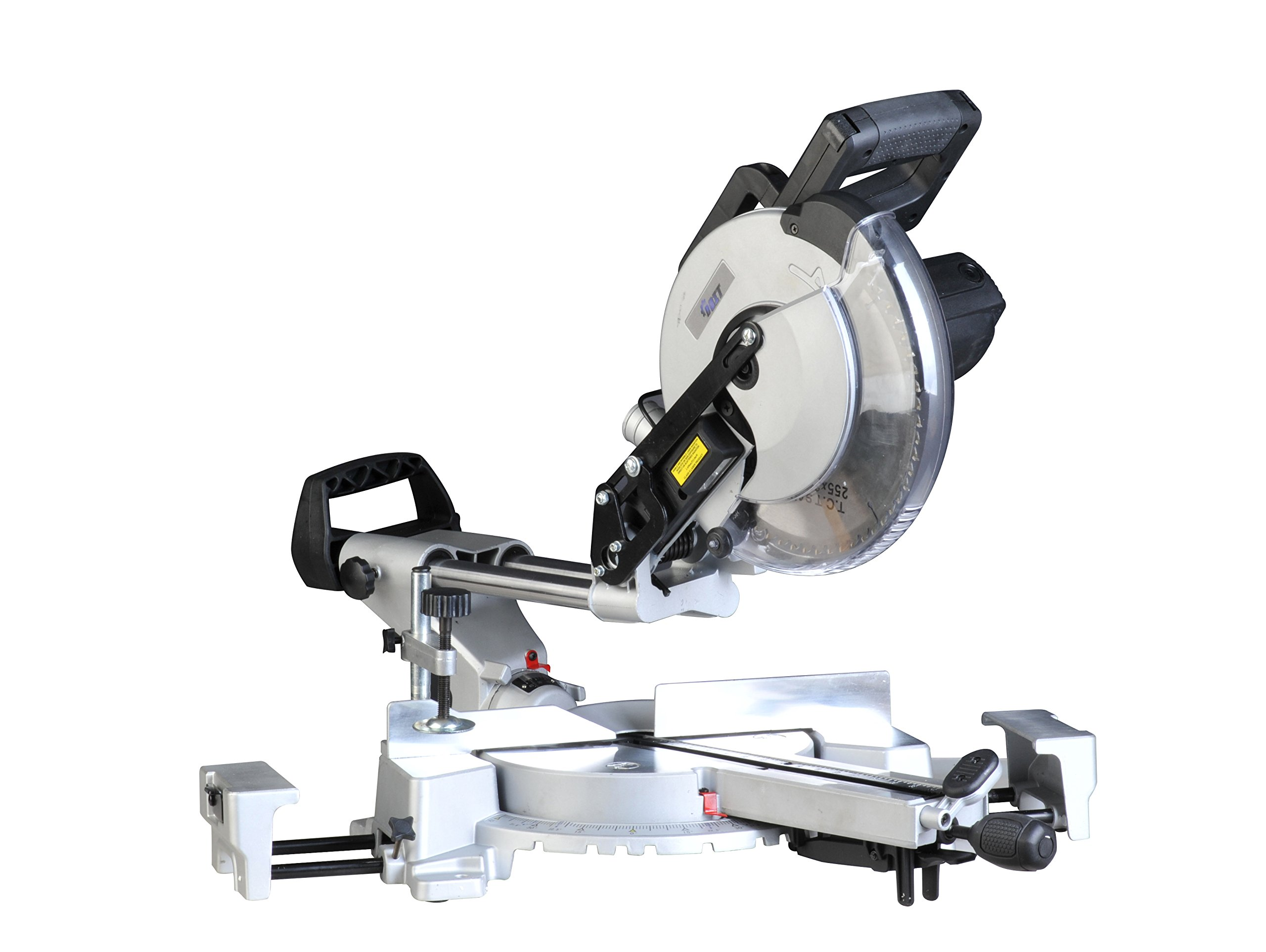Doitpower 15-Amp 10-Inch Sliding Compound Miter Saw (Equipped with LED Work Light and CarryHandle )