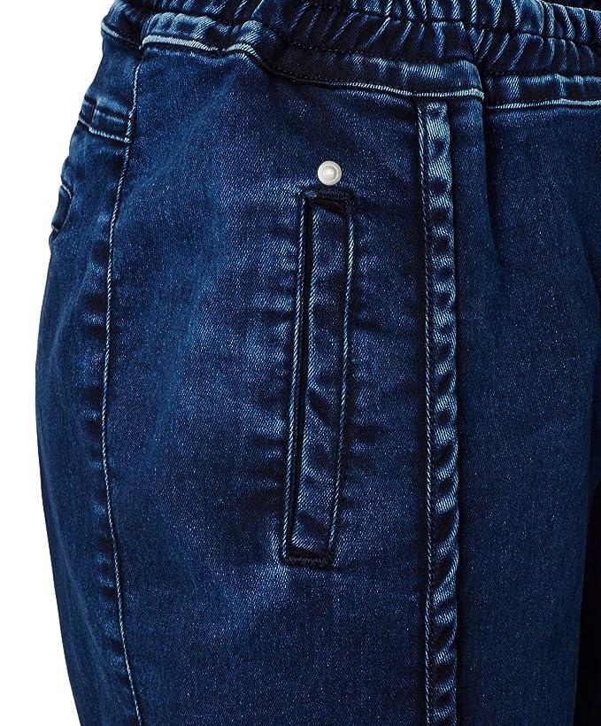 ROCKGEWITTER Jeans-Jogger - leger geschnitten - Used-Look - Denim - Größe  29: Amazon.de: Bekleidung