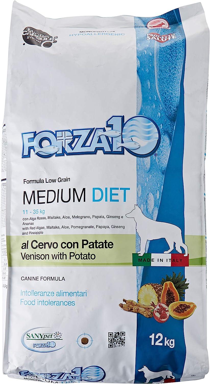 Forza10 F10Perro Medium Diet Ciervo/Patatas kg. 12