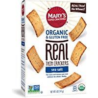 Mary's Gone Crackers Organic Real Thin Gluten Free Sea Salt Crackers 141 g, 141 g