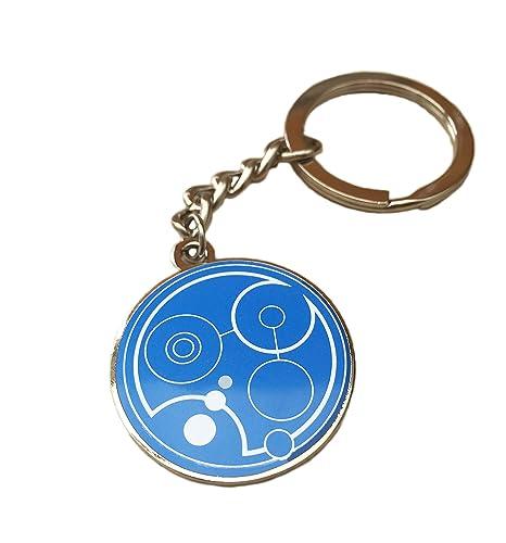 Orion Creations Doctor Who Azul Llavero de clase Gallifreyan ...