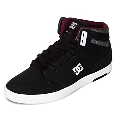 ce681414ed926d DC Nyjah High, Baskets mode femme - Noir (Black Anthracite-Bka), 42 ...