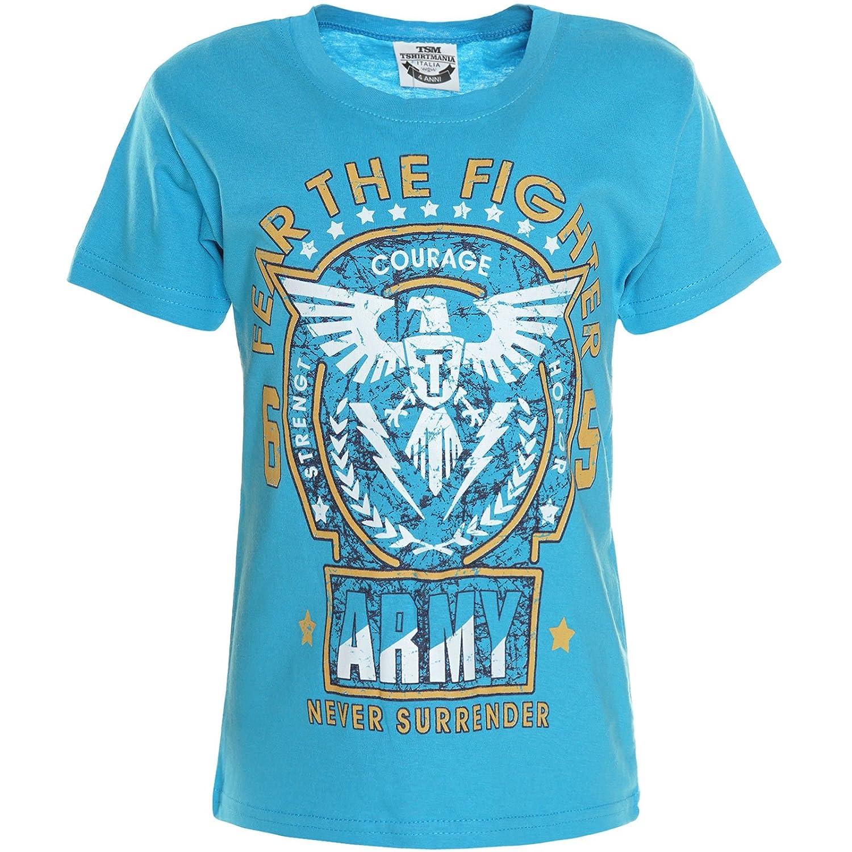 Jungen Kinder T-Shirt Kurzarm Shirts 21124