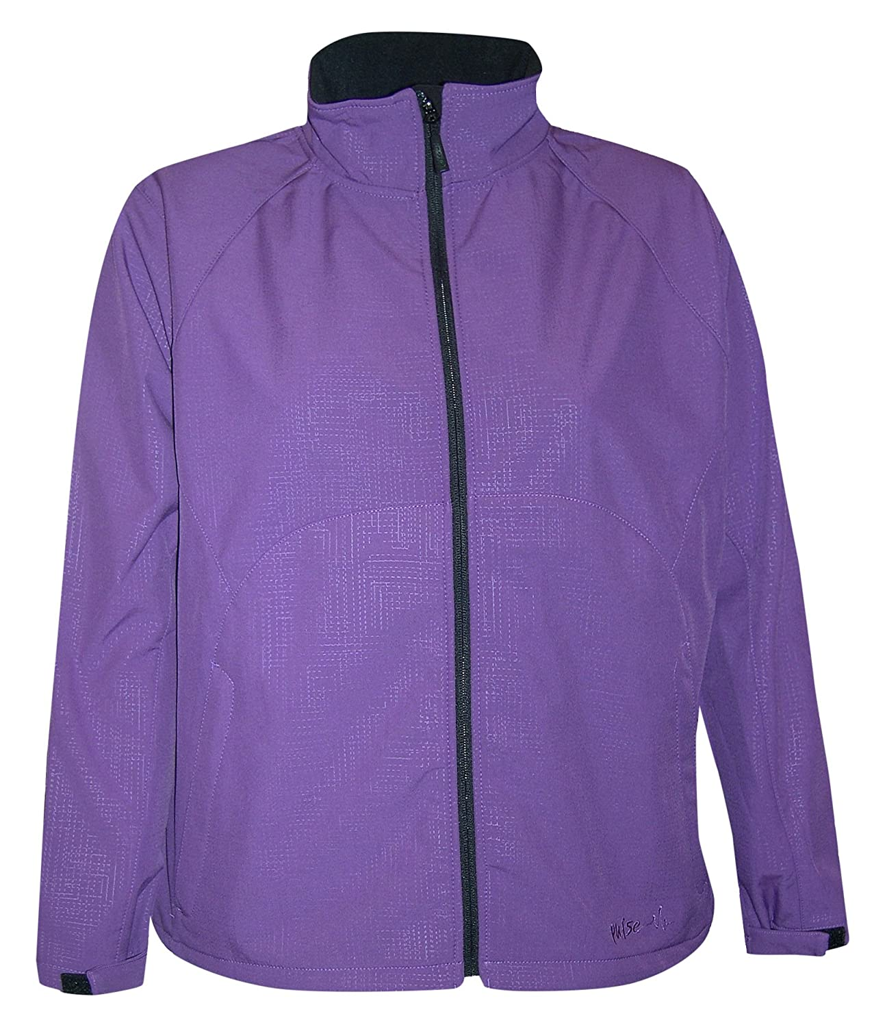 7b7f3701f5f Pulse Womens Plus Size Micro Fleece Soft Shell Jacket  bpz1B22682 ...