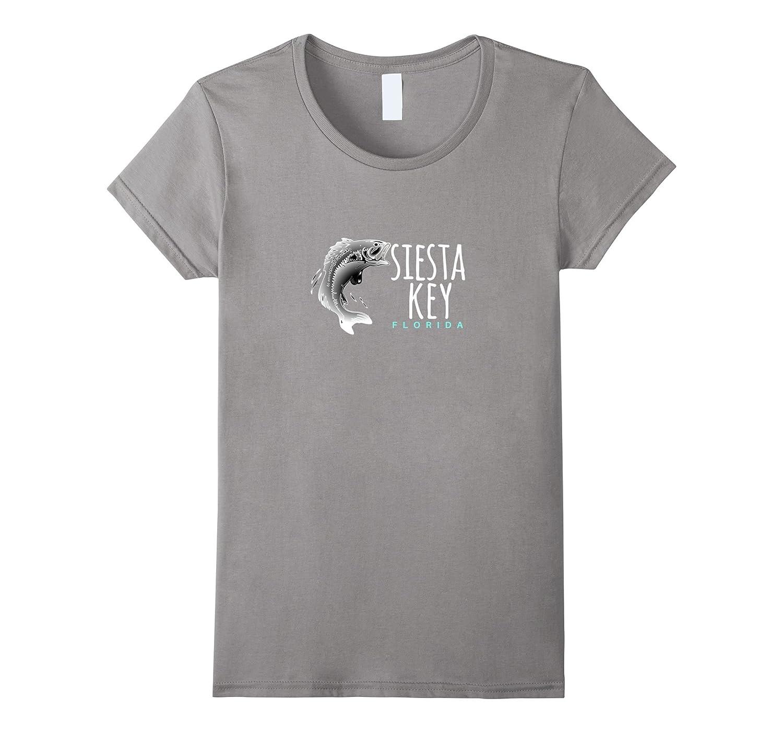 Siesta Key Florida T-Shirt, Fishing Siesta Gulf Coast Tee