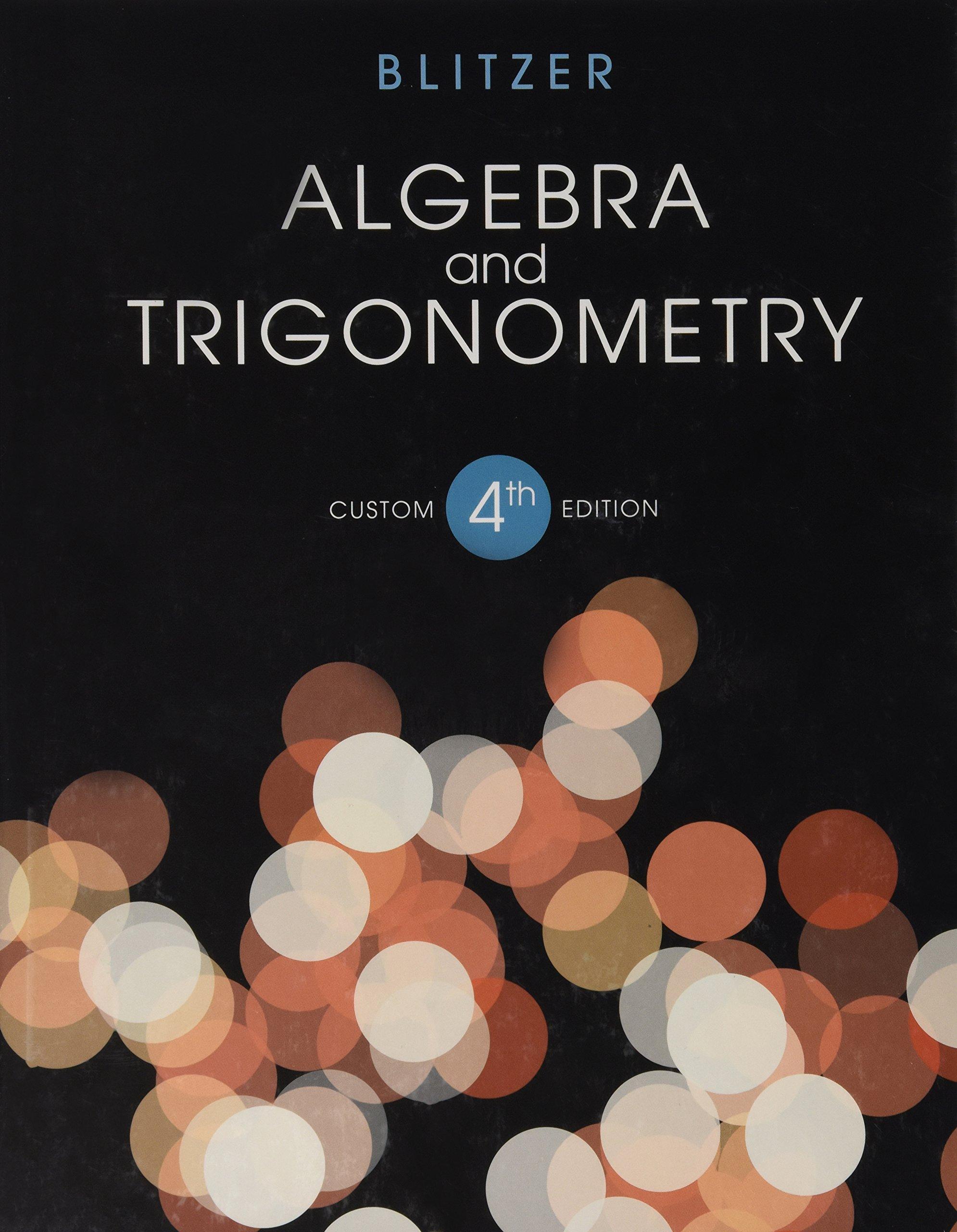 Download Algebra and Trigonometry 4th Ed pdf epub